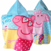 Peppa Pig 'Seaside' Poncho Towel
