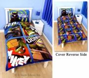 Teenage Mutant Ninja Turtles 'Dudes' Reversible Panel Single Bed Duvet Quilt Cover Set