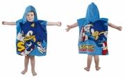 Sonic The Hedgehog 'Sprint' Poncho Towel