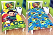 Tree Fu Tom Leaves Reversible Panel Single Bed Duvet Quilt Cover Set
