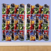 Marvel Avengers Team 66 X 54 inch Drop Curtain Pair