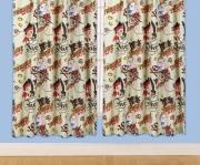 Disney Jake and The Neverland Pirates 'Treasure' 66 X 72 inch Drop Curtain Pair