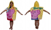 Peppa Pig 'Funfair' Poncho Towel