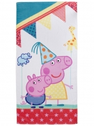 Peppa Pig 'Funfair' Printed Beach Towel