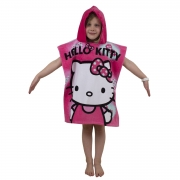 Hello Kitty 'Ink' Poncho Towel