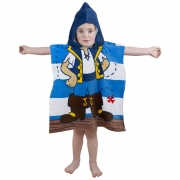 Disney Jake and Neverland Pirates 'Doubloons' Poncho Towel