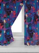 Monster High Beasties 66 X 72 inch Drop Curtain Pair