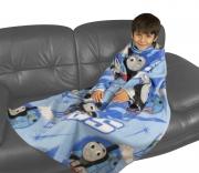 Thomas & Friends Wheessh Cosy Wrap Blanket Sleeved Fleece