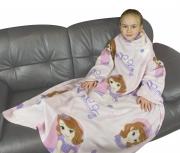 Disney Sofia The First Academy Cosy Wrap Blanket Sleeved Fleece
