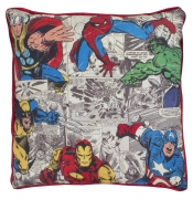 Marvel Comics Defenders Square Canvas Printed Cushion