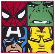 Marvel Comics Shaped Rug