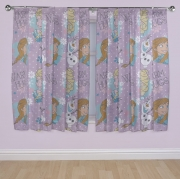 Disney Frozen 'Crystal' 66 X 54 inch Drop Curtain Pair