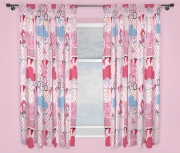 Peppa Pig 'Tweet' 66 X 54 inch Drop Curtain Pair