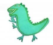 Peppa Pig George 'Dino Roar' 18 inch Shaped Cushion