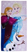 Disney Frozen Winter Printed Beach Towel