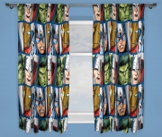 Marvel Avengers Assemble 'Shield' 66 X 54 inch Drop Curtain Pair