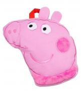 Peppa Pig 'Oink' Travel Blanket Rotary Fleece Throw