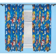 Paw Patrol 'Rescue' Pencil Pleat 66 X 54 inch Drop Curtain Pair