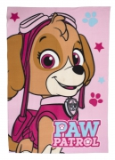 Paw Patrol 'Stars' Panel Fleece Blanket Throw