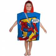 Spiderman 'Webhead' Poncho Towel