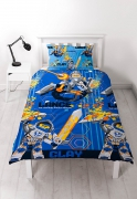Lego Nexo Knights Rotary Single Bed Duvet Quilt Cover Set