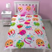 Shopkins 'Jumble' Reversible Rotary Single Bed Duvet Quilt Cover Set