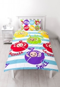 Teletubbies 'Playtime' Rotary Single Bed Duvet Quilt Cover Set