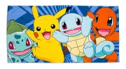 Pokemon 'Catch' Velour Beach Towel