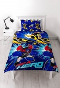 Transformers 'Hero' Rotary Single Bed Duvet Quilt Cover Set