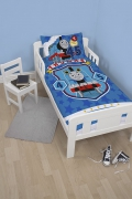 Thomas 'Patch' Panel Junior Cot Bed Duvet Quilt Cover Set