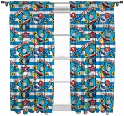 Thomas 'Patch' Pencil Pleat 66 X 72 inch Drop Curtain Pair