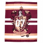 Harry Potter 'Gryffindor' Panel Fleece Blanket Throw