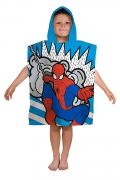 Ultimate Spiderman 'Abstract' Poncho Towel