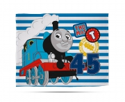 Thomas 'Patch' Panel Fleece Blanket Throw