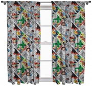 Marvel Comics 'Retro' 66 X 72 inch Drop Curtain Pair