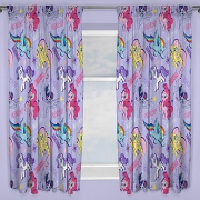 My Little Pony Movie 'Adventure' Pencil Pleat 66 X 54 inch Drop Curtain Pair