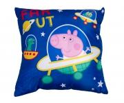 Peppa George Planets Cushion Printed