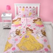 Disney Princess Royal Rotary Single Bed Duvet Quilt Cover Set
