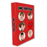One Direction A4 Ringbinder Folder Stationery