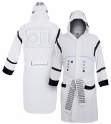 Star War 'Stormtrooper' White with Hood One Size Bathrobe