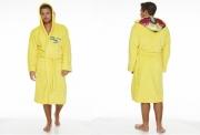 Breaking Bad 'Cooksuit' Yellow Hooded One Size Bathrobe