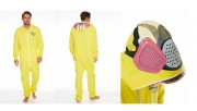 Breaking Bad 'Cooksuit' Yellow Hooded Mens Large Jumpsuit