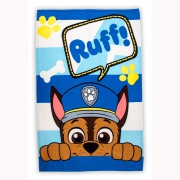 Paw Patrol Peek Panel Fleece Blanket Throw
