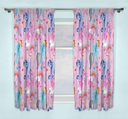 My Little Pony Crush 66 X 72 inch Drop Curtain Pair
