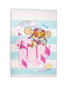 Paw Patrol Pastels Skye Panel Fleece Blanket Throw