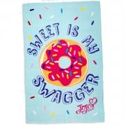 Jojo Siwa 'Sweet Is My Swagger' Bows Panel Fleece Blanket Throw