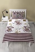 Harry Potter Single Reversible Duvet Rotary Bed Quilt Cover Set