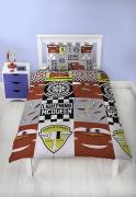 Disney Cars Velocity Lightning Mcqueen Hudson Horent Racing Series Rotary Single Bed Duvet Quilt Co