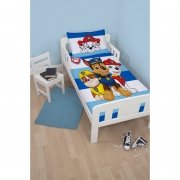 Paw Patrol Peek Panel Junior Cot Bed Duvet Quilt Cover Set