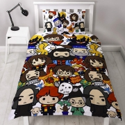 Harry Potter 'Charm' Rotary Single Bed Duvet Quilt Cover Set